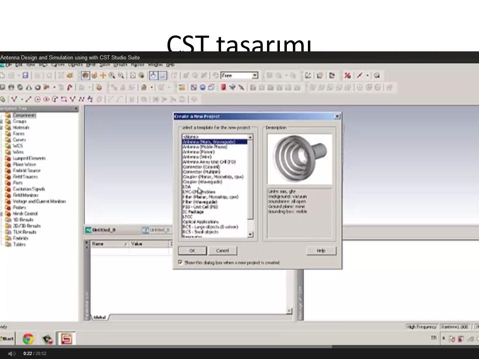 CST tasarımı
