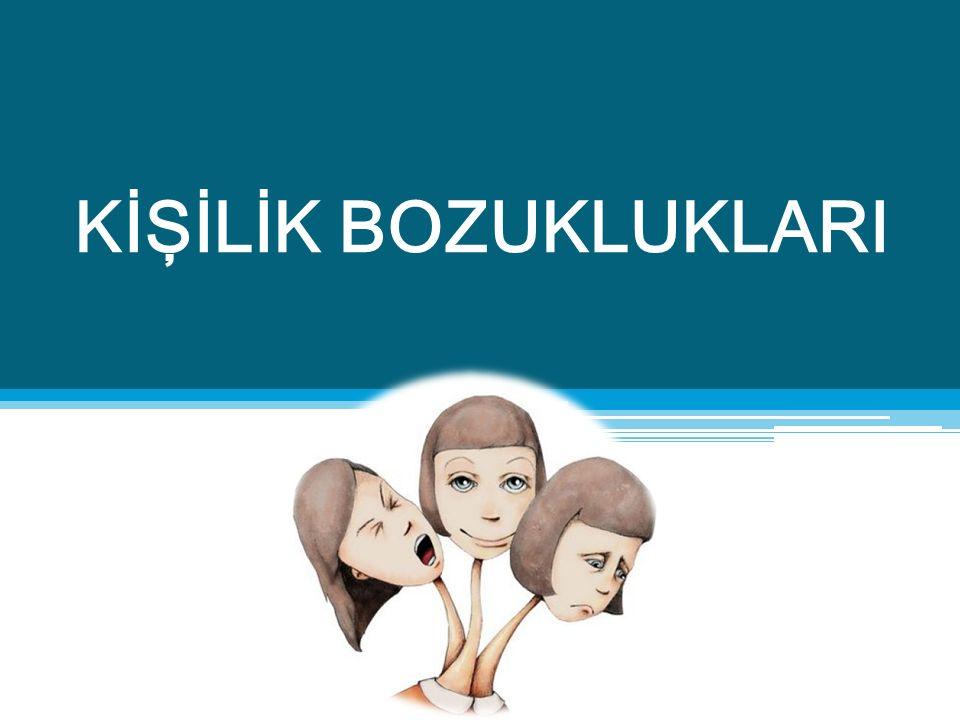 Şizotipal Kişilik Bozukluğu Tanısı Alan Bireylerde Olası Hemşirelik Tanıları  Düşünce sürecinde bozulma  Sosyal izolasyon  Sosyal etkileşimde bozulma  Yalnızlık  Anksiyete