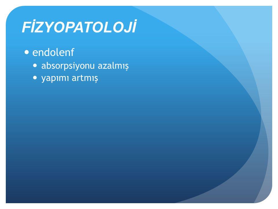 Endolenfatik hidrops mekanizmaları Endolenfatik duktusun obstruksiyonu ve/veya endolenfatik kesenin disfonksiyonu.