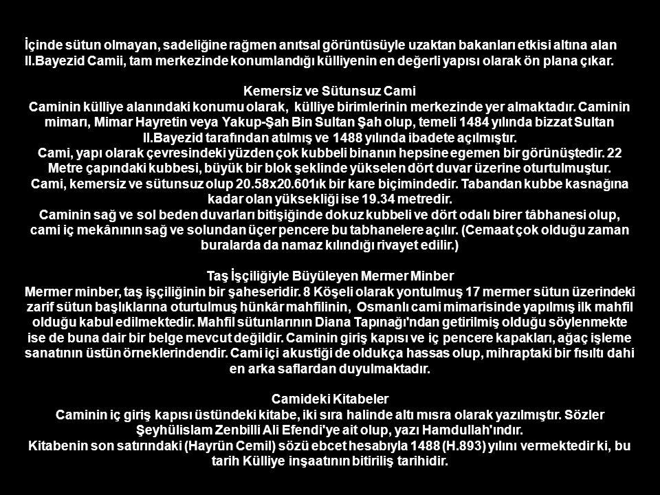 Can AKIN ŞAİR VE FOTOĞRAF SANATÇISI Edirne II.Bayezid Camii