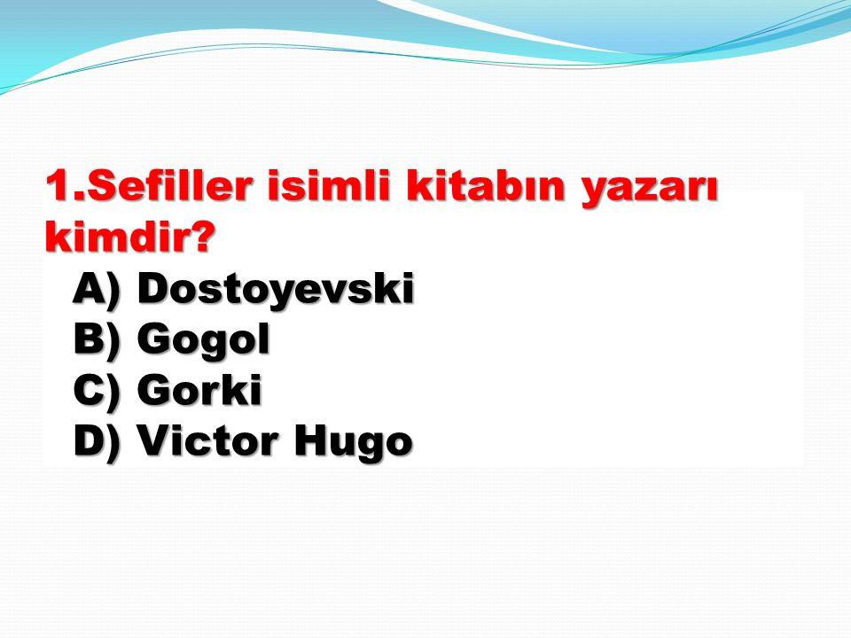 SEFİLLER SEFİLLER