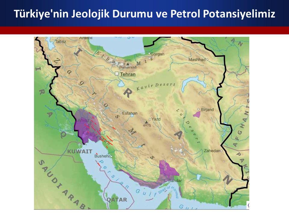 Ülkemizdeki petrol üretiminin tamamına yakını Güneydoğu Anadolu Bölgesi nden sağlanmaktadır.