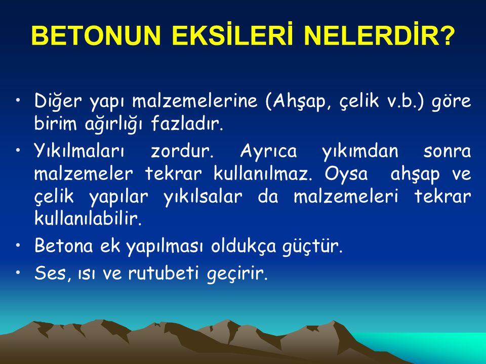 KALİTELİ BETON NEDİR.