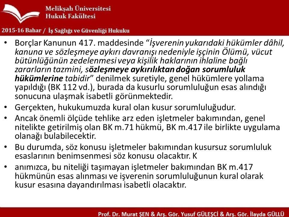 Borçlar Kanunun 417.
