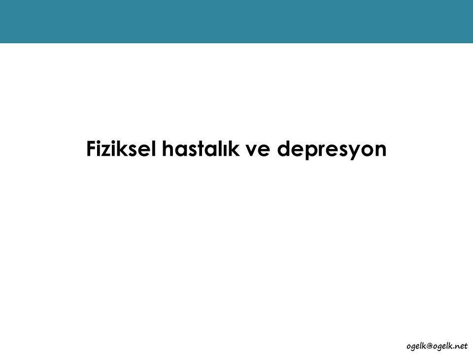 Fiziksel hastalık ve depresyon