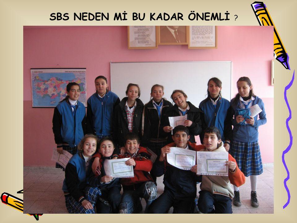 SBS NEDEN Mİ BU KADAR ÖNEMLİ