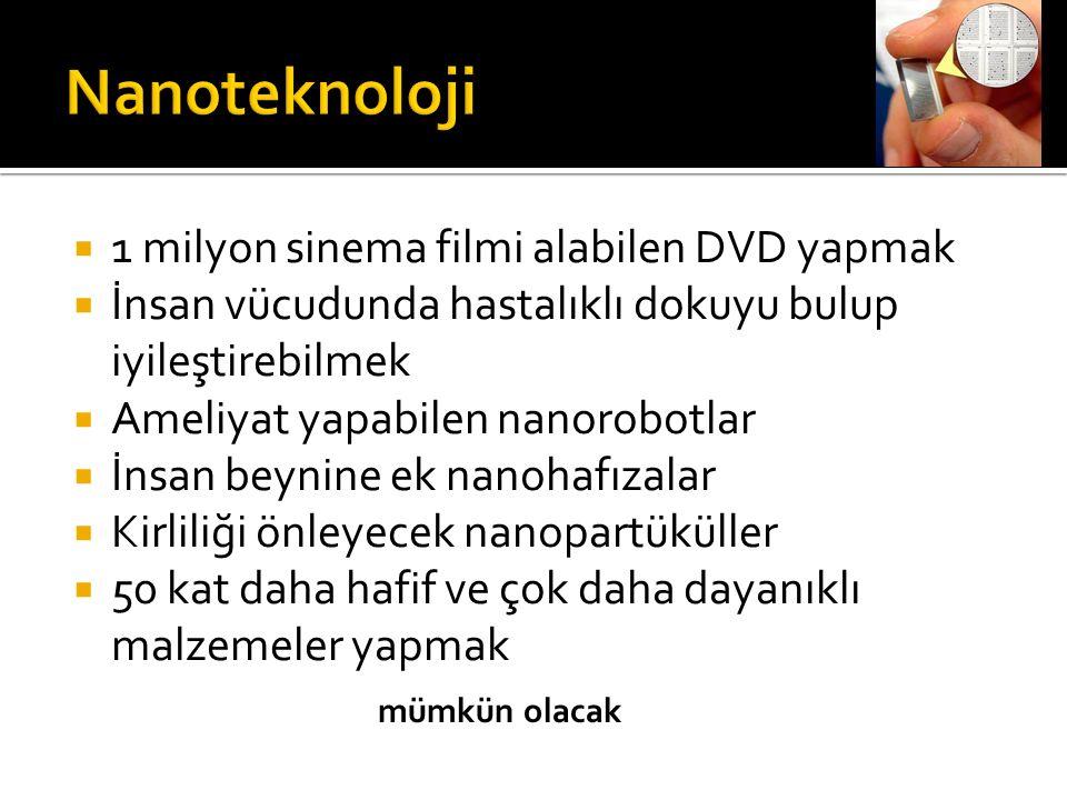  Nano: Nano kelimesi Yunanca nannos kelimesinden gelir ve küçük yaşlı adam veya cüce demektir.