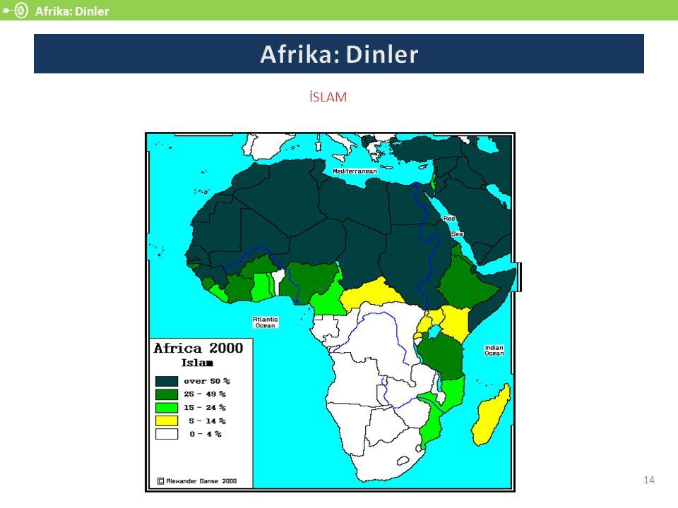 Afrika: Dinler 14 İSLAM