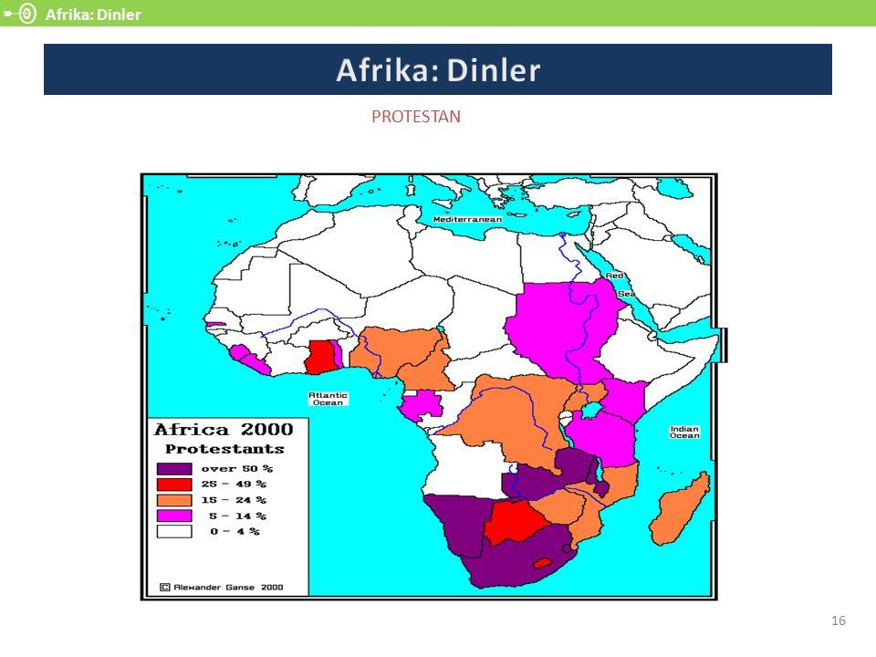 Afrika: Dinler 16 PROTESTAN