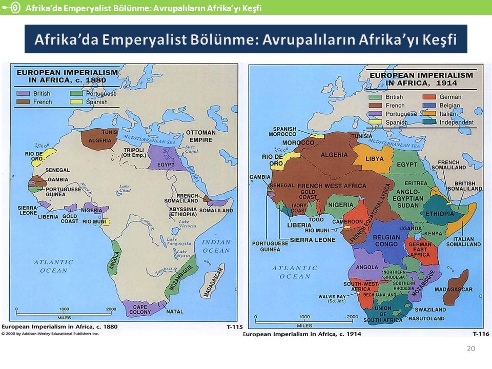 Afrika'da Emperyalist Bölünme: Avrupalıların Afrika'yı Keşfi 20