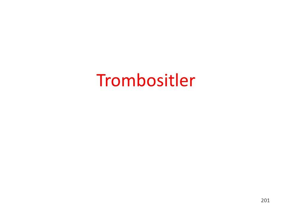 201 Trombositler