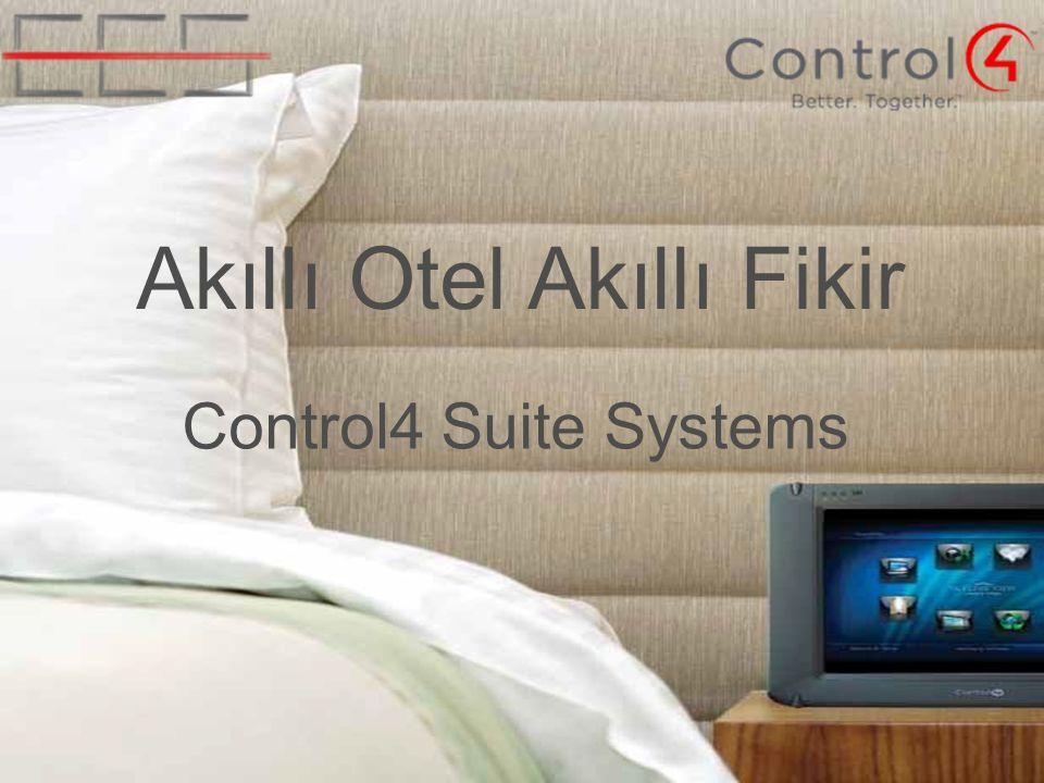 Akıllı Otel Akıllı Fikir Control4 Suite Systems