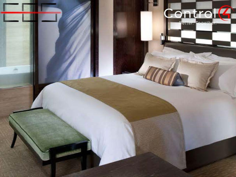 Control4 Suite Systems; oteller için standart temelli, kapıdan perdelere uzanan ilk otomasyon ve eğlence kontrol teknolojisidir.