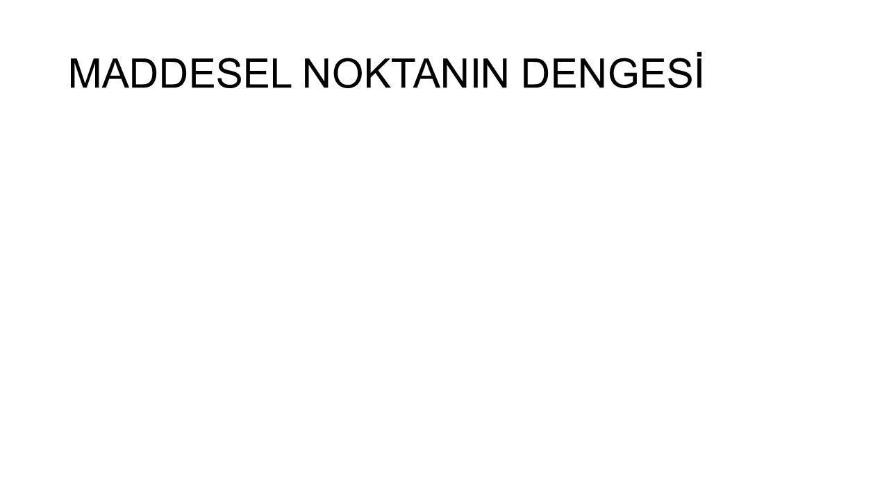 MADDESEL NOKTANIN DENGESİ