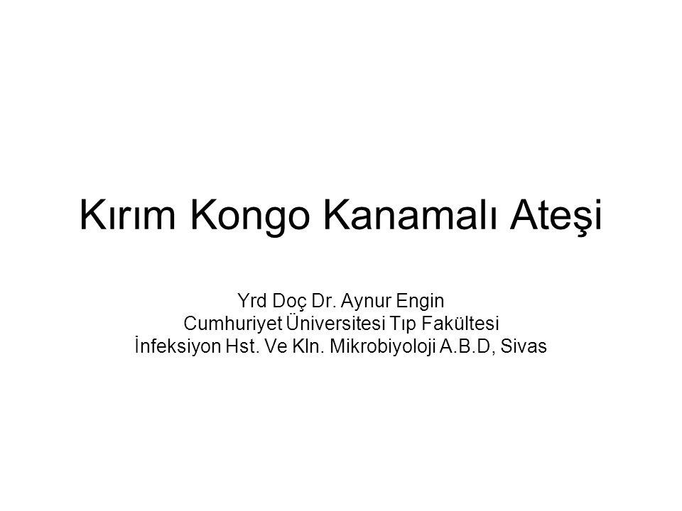 Kırım Kongo Kanamalı Ateşi Yrd Doç Dr.