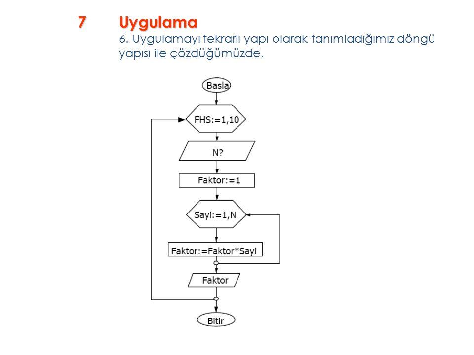 7Uygulama 7Uygulama 6.