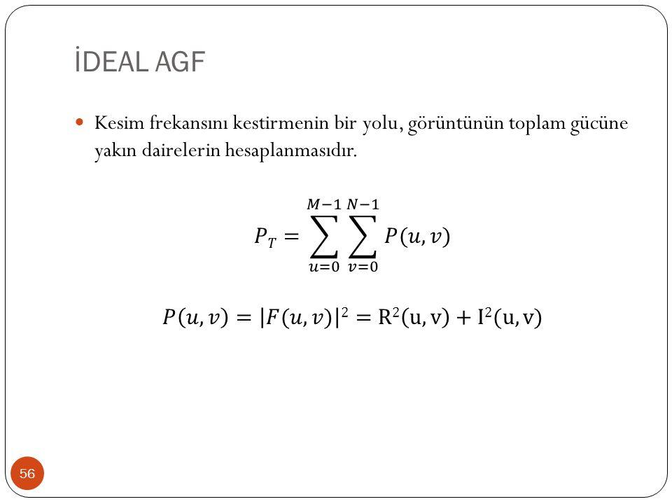 İDEAL AGF 56