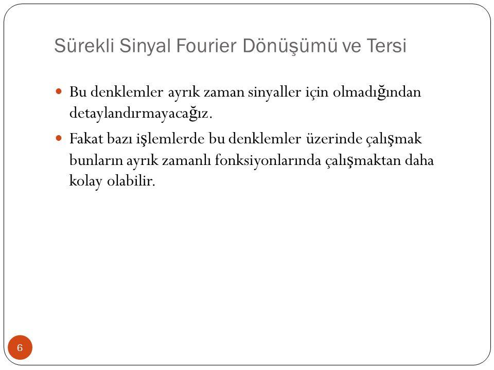 1-Boyutlu DFT ve Tersi 7 Tek bir de ğ i ş keni olan fonksiyon için DFT ve tersi a ş a ğ ıda verildi ğ i gibi olacaktır; Ters Fourier Dönü ş ümü Fourier Dönü ş ümü (u = 0,..., M-1) (x = 0,..., M-1)