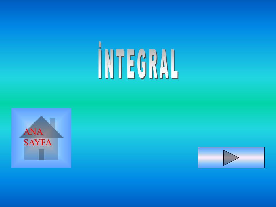 2)KISMİ İNTEGRASYON METODU YARDIM: 1)dv'nin integrali kolay olmalı.