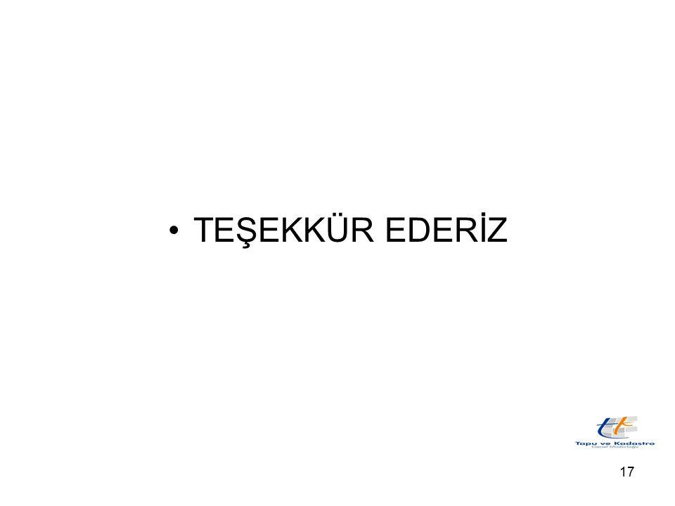 17 TEŞEKKÜR EDERİZ