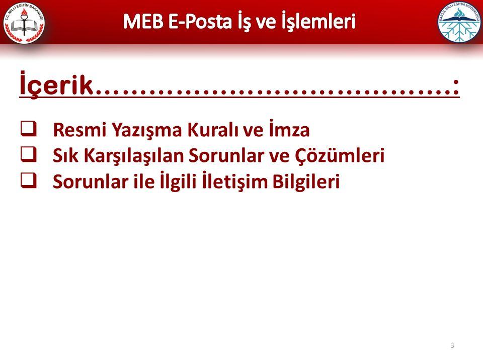 4 @meb.k12.tr E-Postalarının Özellikleri