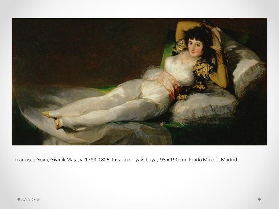 Francisco Goya, Giyinik Maja, y.