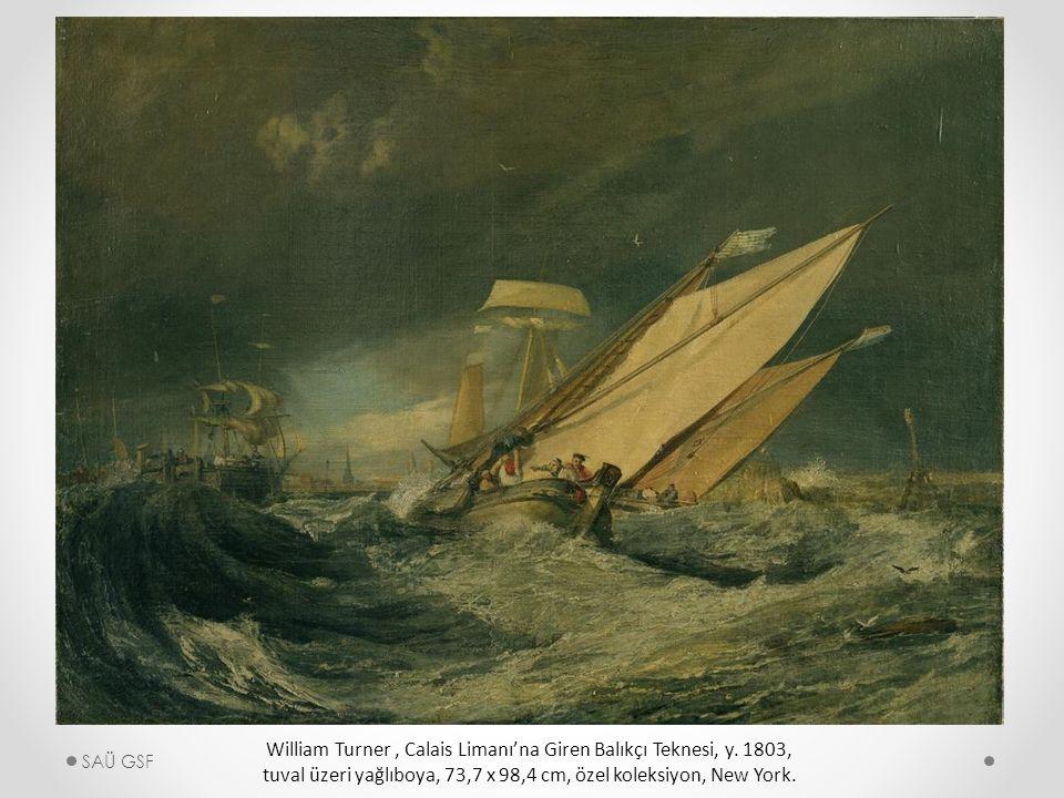 William Turner, Calais Limanı'na Giren Balıkçı Teknesi, y.