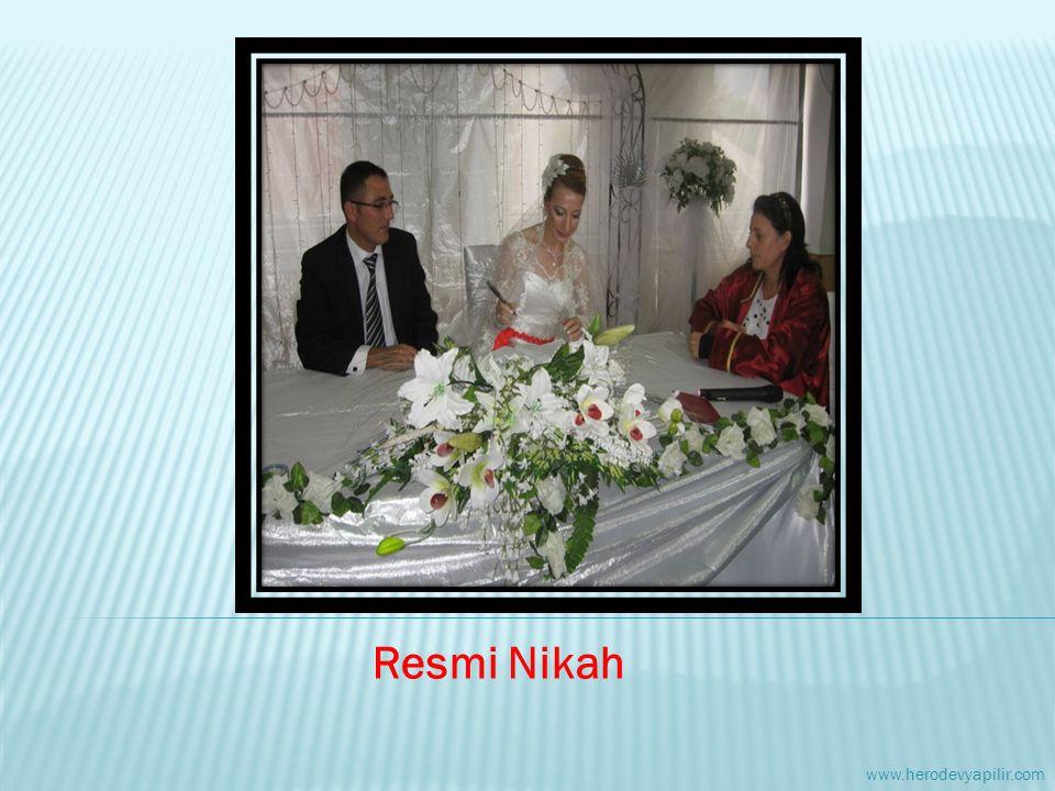Resmi Nikah www.herodevyapilir.com