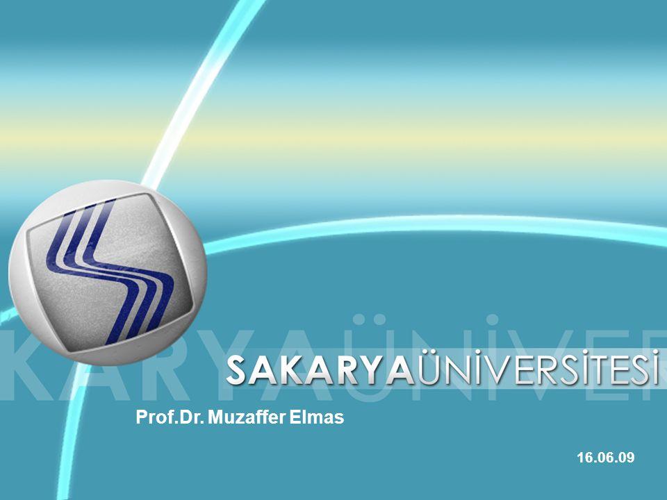 Prof.Dr. Muzaffer Elmas 16.06.09