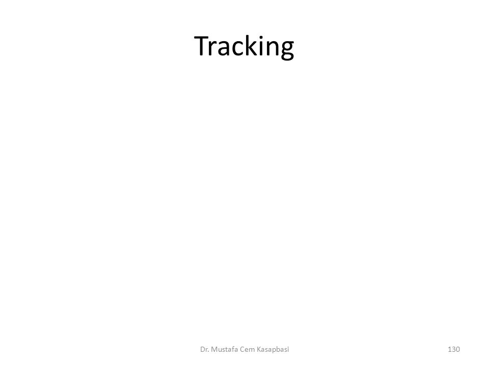Tracking Dr. Mustafa Cem Kasapbasi130