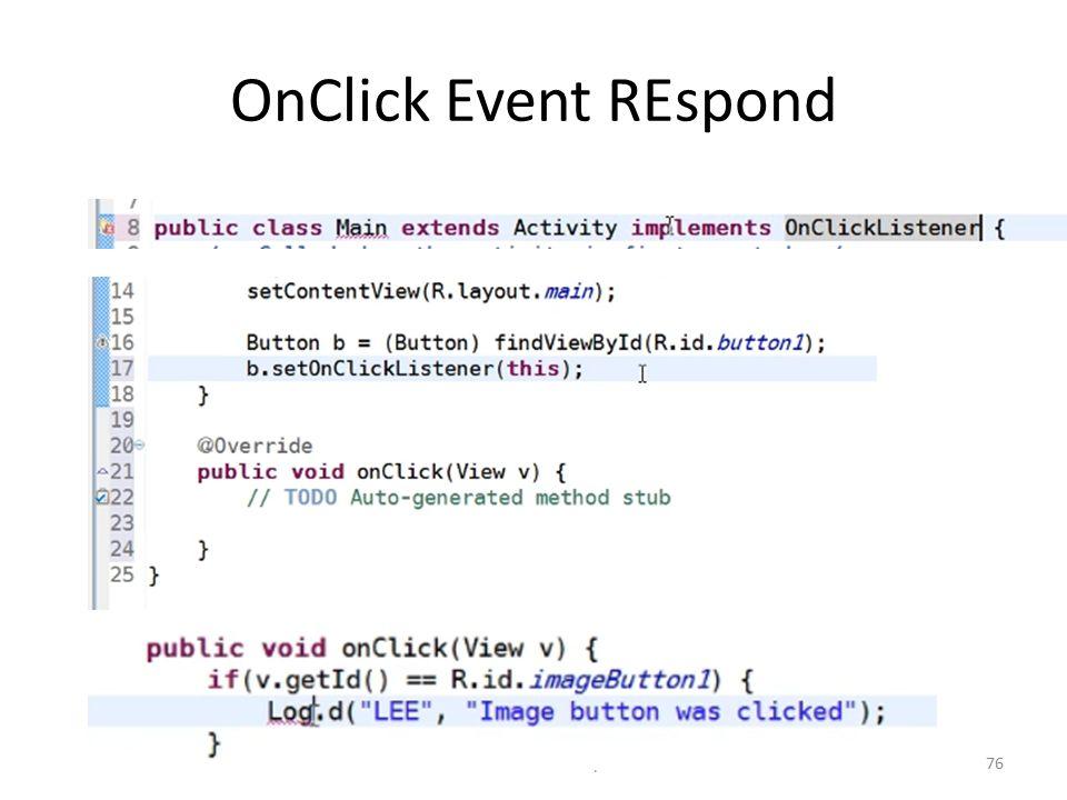 OnClick Event REspond Dr. Mustafa Cem Kasapbasi76