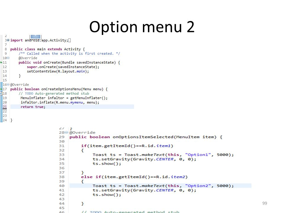 Option menu 2 Dr. Mustafa Cem Kasapbasi99