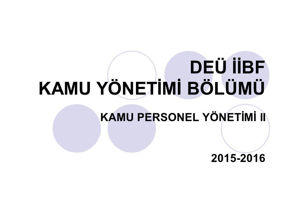 KAMU SEKTÖRÜNDE ALT İŞVERENLİĞİN DOĞURDUĞU SORUNLAR 3.