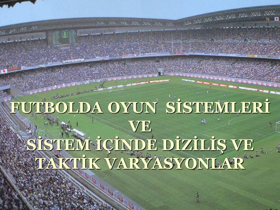 Futbol da Sistemlerin Tarihçe Özeti  Futbol İlk Yıllarda, Genellikle 2-8 Şeklinde Oynanmaktaydı.