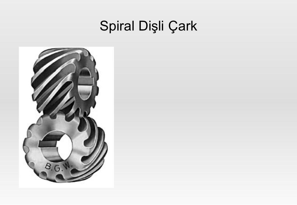 Spiral Dişli Çark