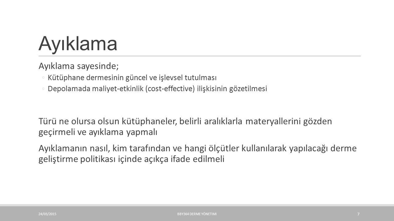 Kaynakça Boon, B.(2008). Weeding with the CREW method.