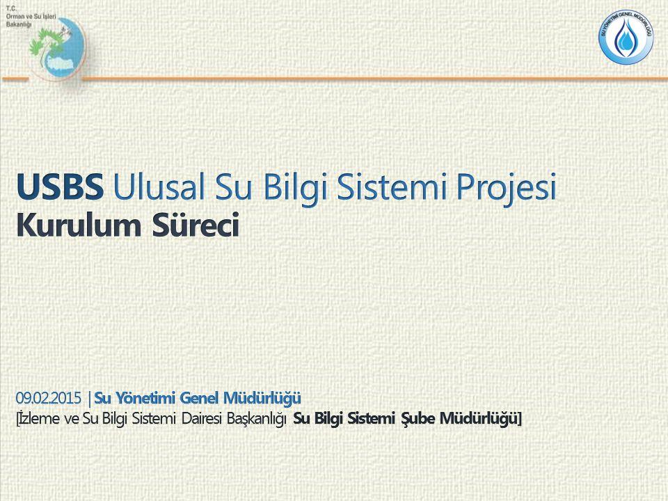 Sunum Planı 2 Kurulum Süreci Gerçekleştirilecek Çalışmalar Giriş USBS Hakkında Fizibilite Süreci Hedef & Fizibilite Çıktıları Yapılan Çalışmalar