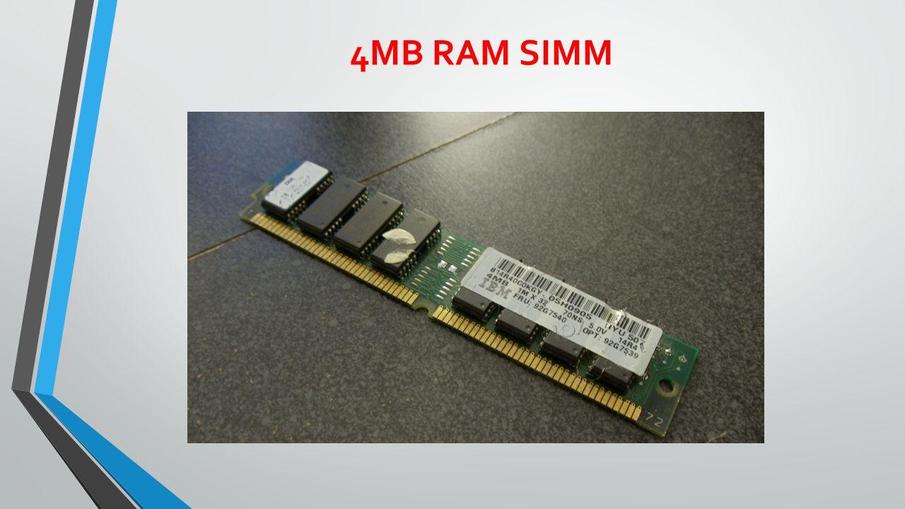 4MB RAM SIMM