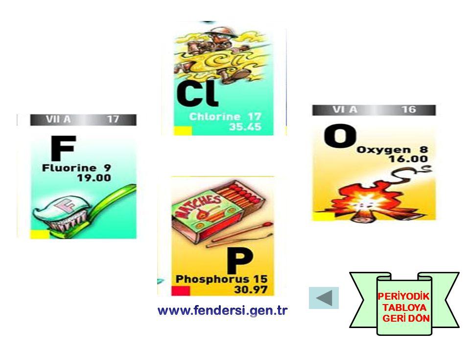 Lens yapımında kullanılırım BEN POTASYUM (K) İ nsanlar beni sıvı deterjan yapımında kullanırlar.