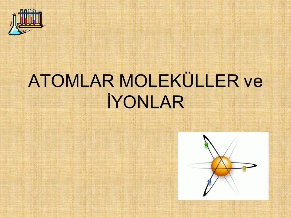 Örnekleri çalıştıktan sonra, aşağıda ismi verilen bileşiklerin formüllerini yazınız.