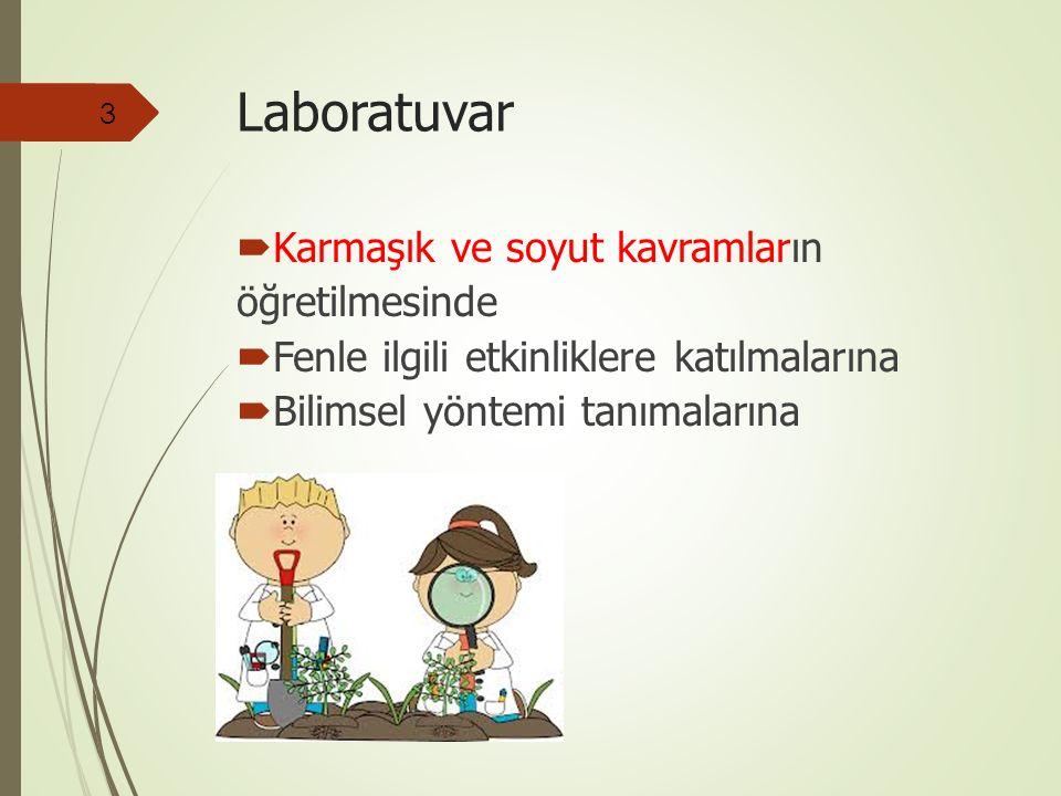  Karmaşık ve soyut kavramların öğretilmesinde  Fenle ilgili etkinliklere katılmalarına  Bilimsel yöntemi tanımalarına 3