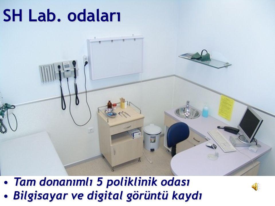 EÜTF'de SH ile Eğitim 2001 - EÜ BAP 2004 - SH Lab. 2004-2005 - SH Eğitim