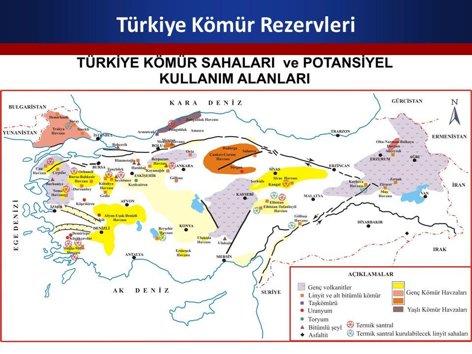 Türkiye Kömür Rezervleri