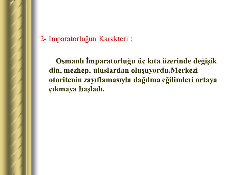 3- Askeri Yapıdaki Bozulmalar : III.Murat zamanında Kanunlara aykırı olarak, Yeniçeri Ocağına Askerlikle ilgisi olmayan kişiler alınmaya başladı.