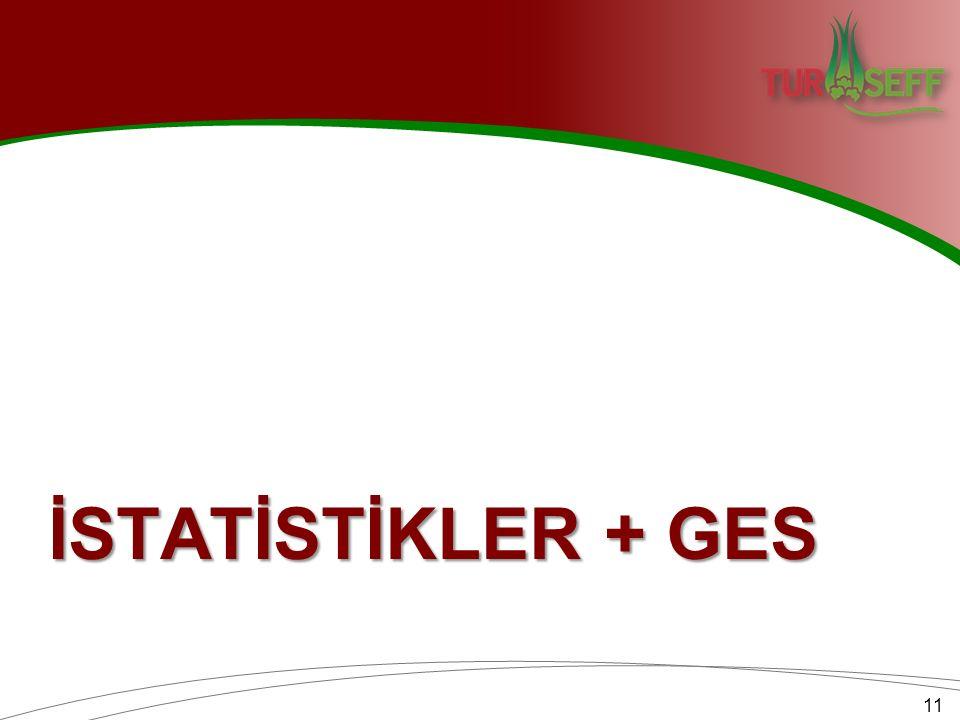İSTATİSTİKLER + GES 11