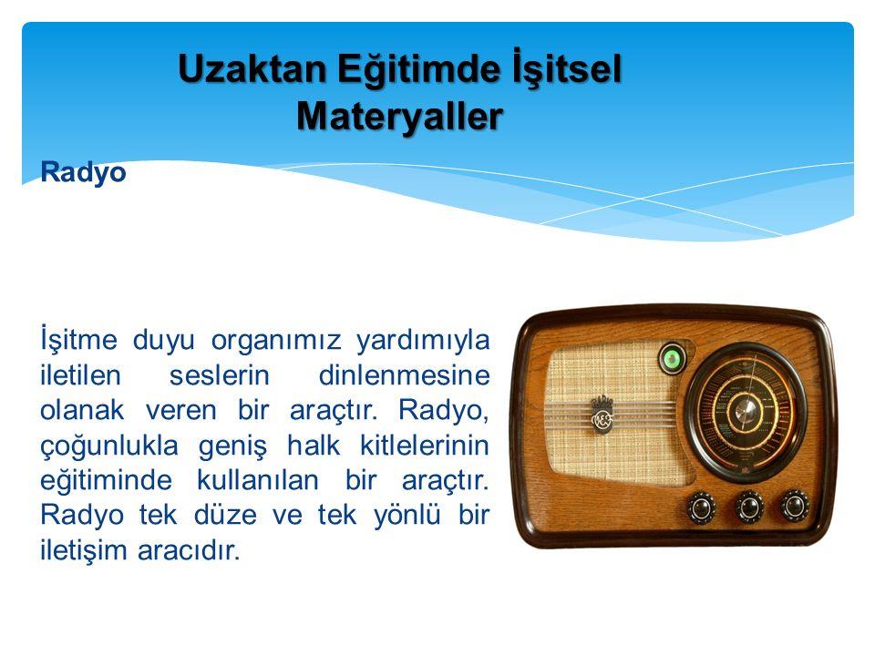 Radyo İşitme duyu organımız yardımıyla iletilen seslerin dinlenmesine olanak veren bir araçtır.