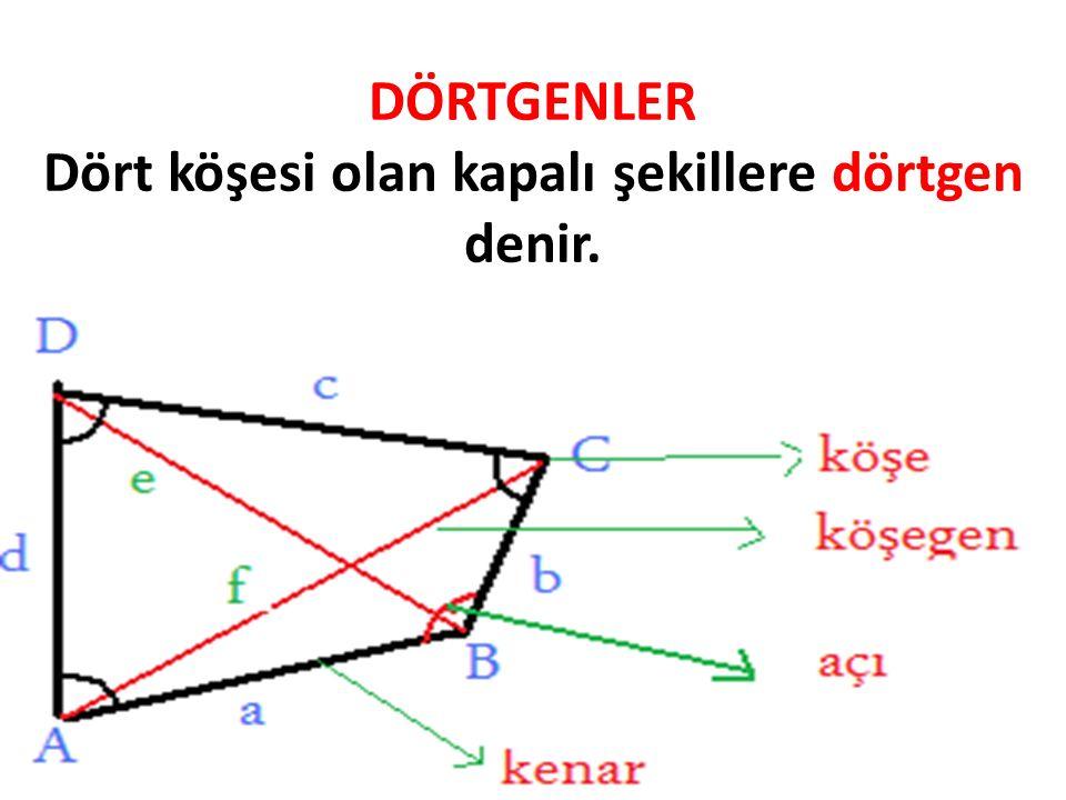 Düzgün düzgün düzgün düzgün Dörtgen üçgen beşgen altıgen Kenarları ve açıları eşit olmayan çokgenler düzgün çokgen değildir. Kare üçgen beşgen altıgen