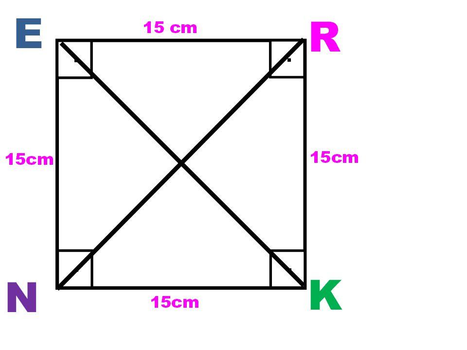 3.Aşağıdaki üçgenlerden hangisi dik üçgendir?