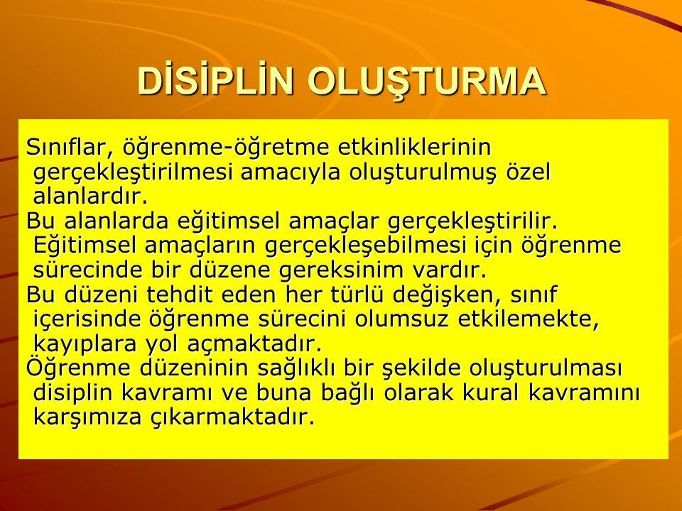 Disiplin ve Önemi Disiplin, en kısa şekilde davranış denetimi olarak tanımlanmaktadır Disiplin kavramı, en çok kabul gören anlamı ile mevcut yasa, kural, ilke ve düzenlemelere uygun davranma olarak tanımlanabilir.