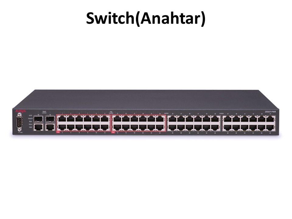 Switch(Anahtar)